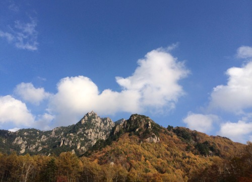 Mt.Mizugaki in autumn