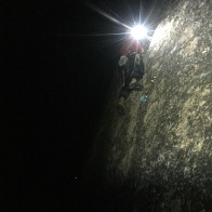 Trying The Moai Face in the dark, Mizugaki - JPN