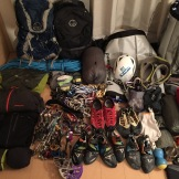 Packing for big wall climbing